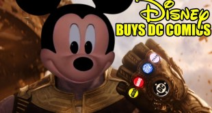 DISNEY BUYS DC COMICS - BATFLECK IS NOT AMUSED