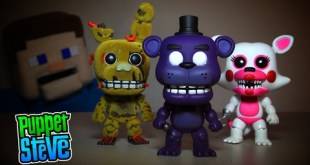 Five Nights at Freddy's Fnaf POP Funko Exclusives Gamestop, Hot Topic Shadow Freddy, Funtime Foxy