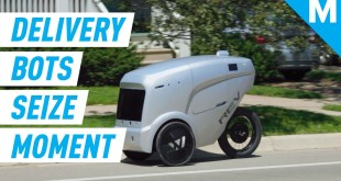 Food Delivery Robots Are Solving A Huge Coronavirus Problem | Mashable
