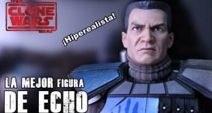 La mejor figura de Echo - Star wars The Clone wars - Sideshow - Jeshua Revan