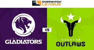 Los Angeles Gladiators vs Houston Outlaws | Week 20 | NA Day 1