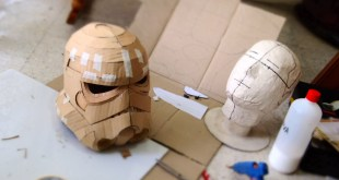 Make Stormtrooper Helmet Part 1 - Cardboard (free download) Cosplay How to