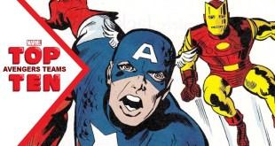 Marvel Top 10 Avengers Team
