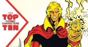 Marvel Top 10 Cosmic Characters