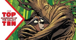 Marvel Top 10 Guardians of the Galaxy
