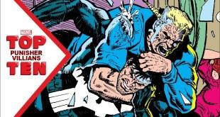 Marvel Top 10 Punisher Villains