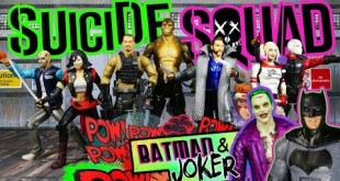 Mattel DC Comics Multiverse Suicide Squad Mega Action Review! CNC Killer Croc