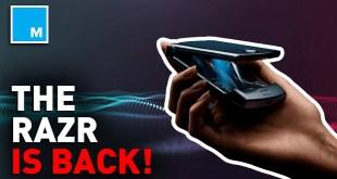 Motorola Brings Back FOLDABLE RAZR | [MASHABLE NEWS]