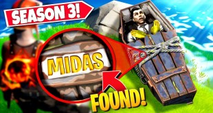 *NEW* SECRET MIDAS GRAVE *EASTER EGG* FOUND IN FORTNITE SEASON 3! (Battle Royale)