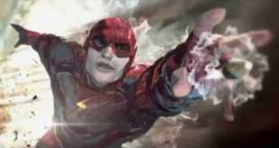 New Flash Suit Concept Art - Justice League Movie (2017)