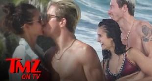 Nina Dobrev & Shaun White Can't Keep Their Hands Off Each Other | TMZ