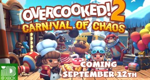 Overcooked! 2 Carnival of Chaos Launch Trailer