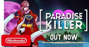 Paradise Killer - Launch Trailer - Nintendo Switch