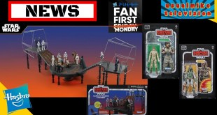 STAR WARS ACTION FIGURE NEWS HASBRO PULSE REVEALS TVC PLAYSET AND WAVE 3 40TH ANNIVERSARY & RUMOURS