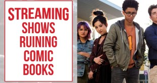 Streaming Shows Are Ruining Comic Books and Streaming