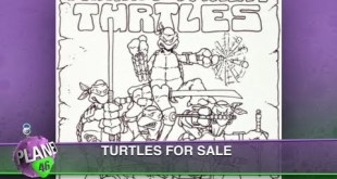 TMNT Original Concept Art, Avengers vs X-Men: Planet 46 Comics S3:Ep10