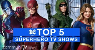 TOP 5: DC Superhero TV Shows | DC Special