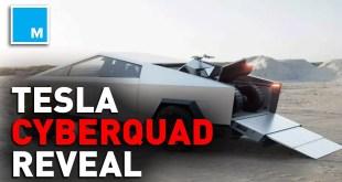 Telsa's CYBERQUAD ATV Revealed by Elon Musk | Mashable News