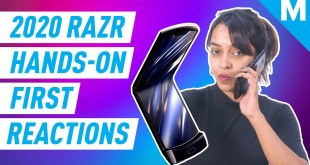 The NEW 2020 MOTO RAZR First Reactions | Mashable