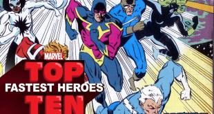 Top 10 Fastest Heroes