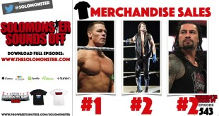 AJ Styles & Roman Reigns Tied For 2nd Among WWE Merchandise Sales