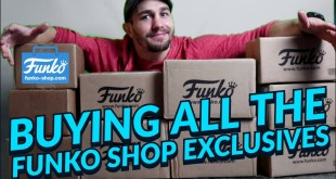 BUYING ALL THE FUNKO SHOP EXCLUSIVES