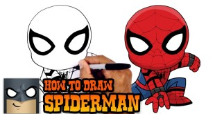 How to Draw Spiderman | Spiderman Homecoming