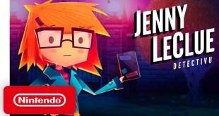 Jenny LeClue - Detectivu - Launch Trailer - Nintendo Switch