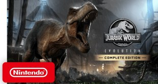 Jurassic World Evolution: Complete Edition - Announcement Trailer - Nintendo Switch