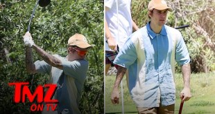 Justin Bieber Looks Good On The Golf Course | TMZ
