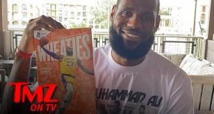 LeBron James Tapped as New Wheaties Box Athlete | TMZ TV