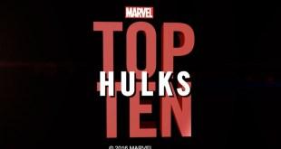 Marvel Top 10 Hulks
