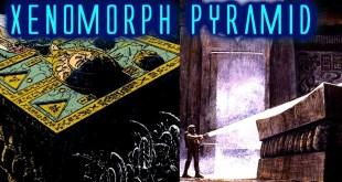 O'Bannons Unused Alien Pyramid in Aliens Advent/Terminus Comic