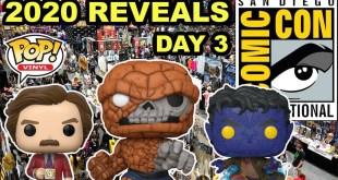 SDCC 2020 Funko Pop Reveals - Day 3