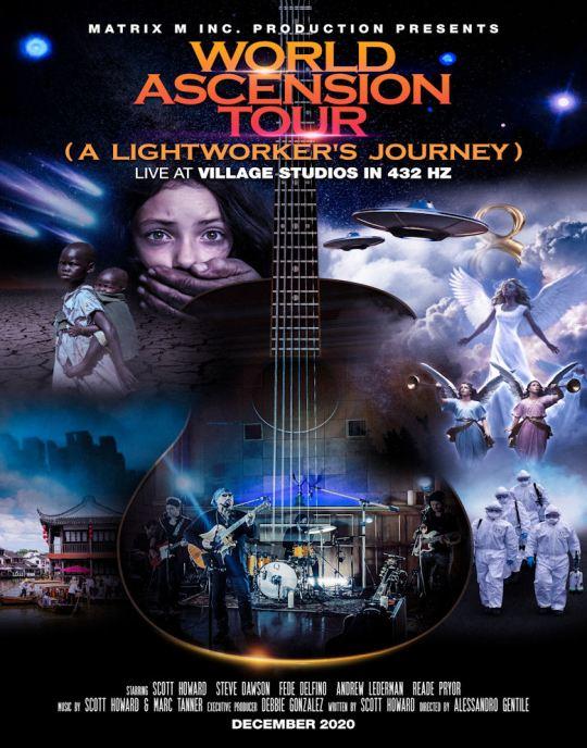 World Ascension Tour (A Lightworker's Journey) Live at Village Studios in 432 Hz Concert Film Review