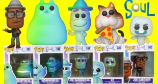 Disney Pixars Soul Official Funko Pop 2020 Collection with 22 and Mr Mittens
