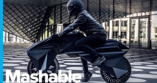 First Functional Fully 3D-Printed Electric Motorcycle