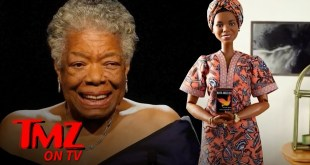 Mattel Honors Poet Maya Angelou With Barbie Doll | TMZ TV
