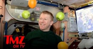 NASA Astronauts Get Holiday Resupply Sent to ISS, Fresh Fruit & Grub | TMZ TV