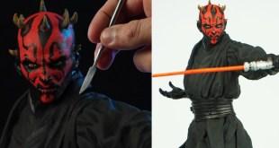 Sculpting DARTH MAUL | Star Wars - The Phantom Menace
