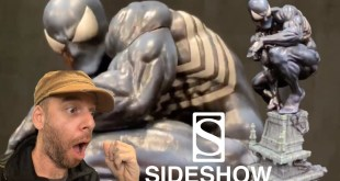 Sideshow Black Symbiote Spider-man reveal, holy crap!!!