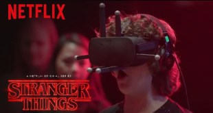 Stranger Things | Cast Reacts: Virtual Reality [HD] | Netflix
