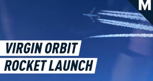 Virgin Orbit Air-Launch Rocket from Soaring 747 | Mashable