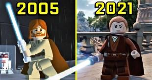 Evolution of LEGO Star Wars Games 2005 - 2021