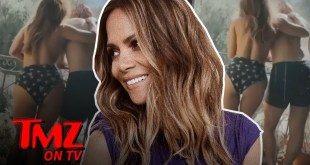 Halle Berry Dances Topless with Boyfriend In Valentine's Day Video | TMZ TV