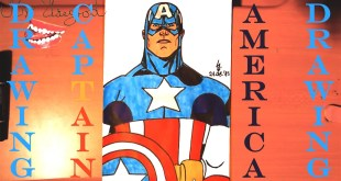 How to Draw CAPTAIN AMERICA EASY | Marvel Superheroes | #MrUsegoodART