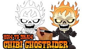 How to Draw Ghostrider | Marvel Comics