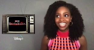 Marvel Studios Disney Plus WANDAVISION w/ Teyonah Parris Celebrity Interview 5 Mins
