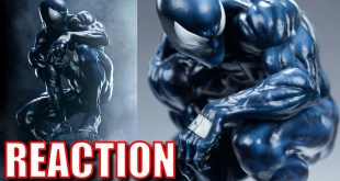 Sideshow Collectibles Symbiote Spider-Man Reaction
