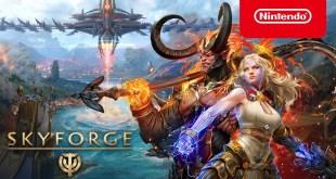 Skyforge - Launch Trailer - Nintendo Switch